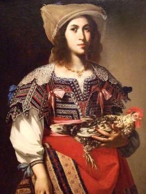 """Stanzione's """"Woman in NeapolitanCostume"""""""