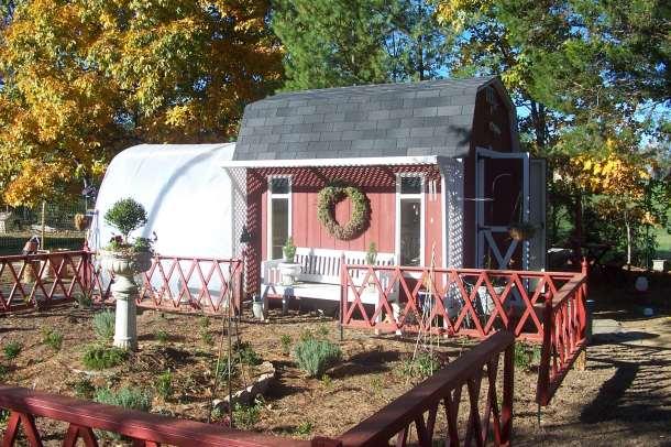 Coop greenhouse